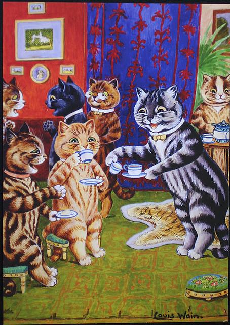 Louis Wain...et ses célèbres chats ! Tumblr10