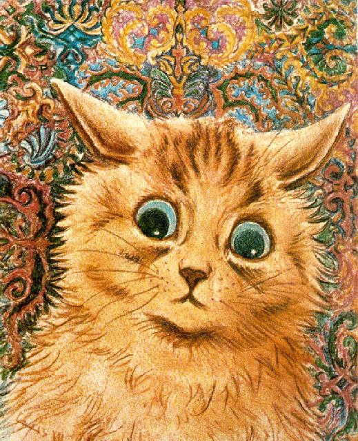 Louis Wain...et ses célèbres chats ! Tumblr12