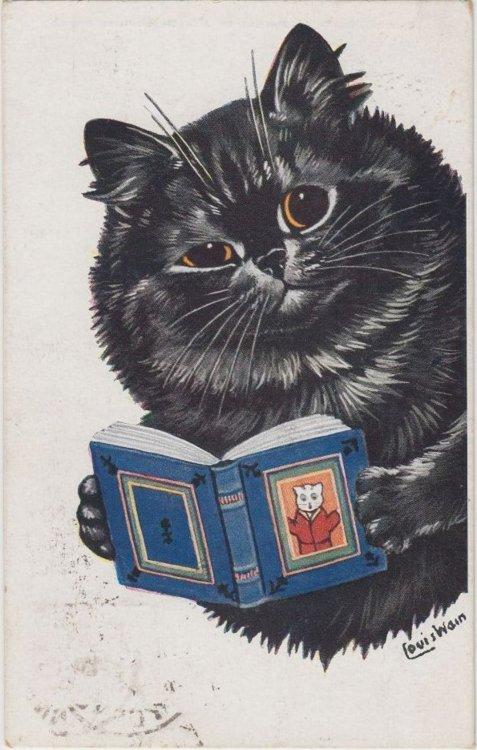 Louis Wain...et ses célèbres chats ! Tumblr14