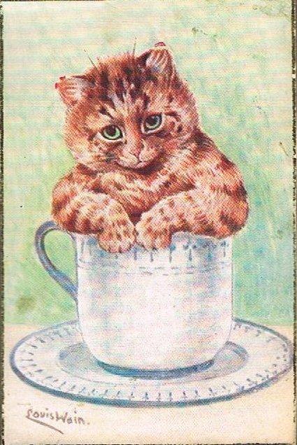 Louis Wain...et ses célèbres chats ! Tumblr15