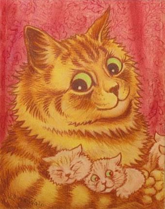 Louis Wain...et ses célèbres chats ! Wain10