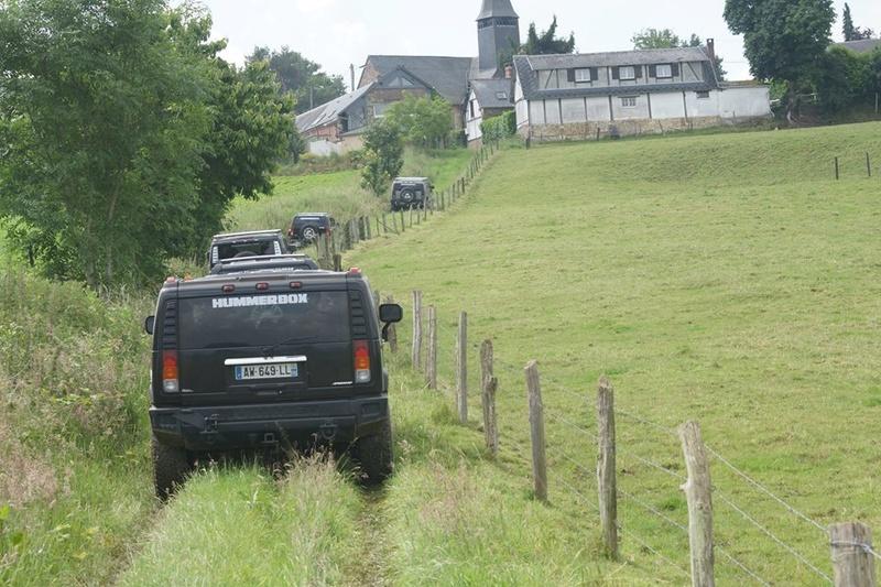 Reconnaissance avec les Hummers pour une Reco le dimanche 15 août à Louviers (27) 13427710