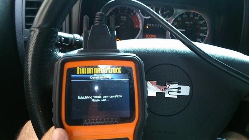 Nouveauté dans le Club Hummerbox ; Valise Hummerbox à dispo pour tout les Hummeristes afin de lire tout les codes erreurs de vôtre Hummer. 13615411
