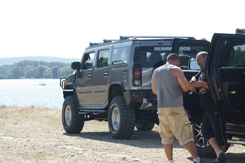 Reconnaissance avec les Hummers pour une Reco le dimanche 15 août à Louviers (27) 14054910
