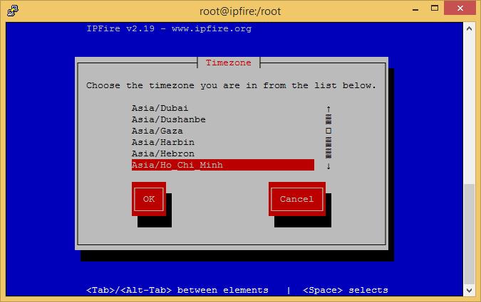 IPFire - firewall miễn phí cho máy chủ Linux Ipfire11