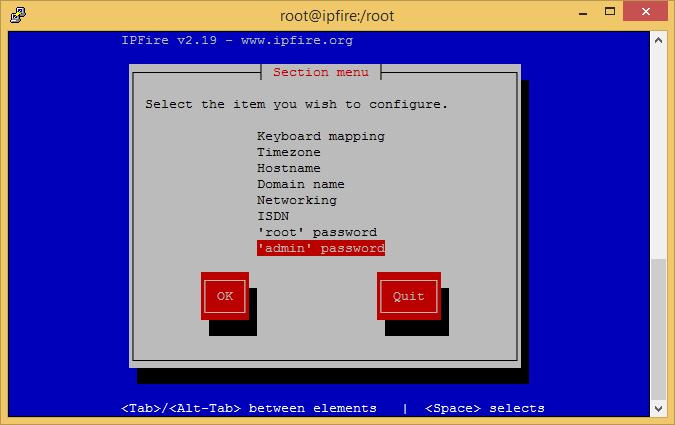 IPFire - firewall miễn phí cho máy chủ Linux Ipfire12