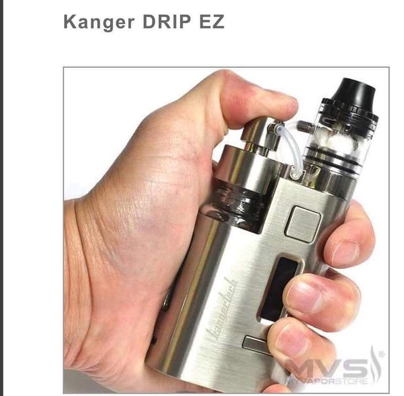 DRIPEZ , le dripper de kangertech Kanger10