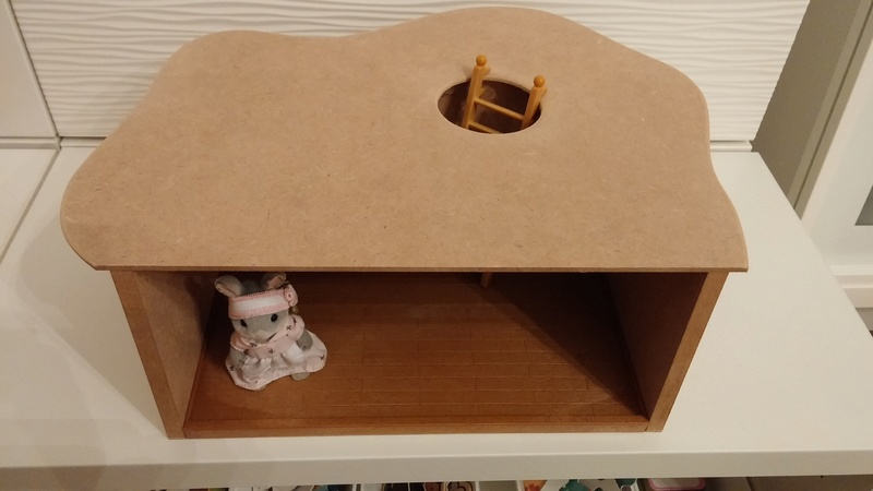 Maison souterraine simplissime - déco 20160822