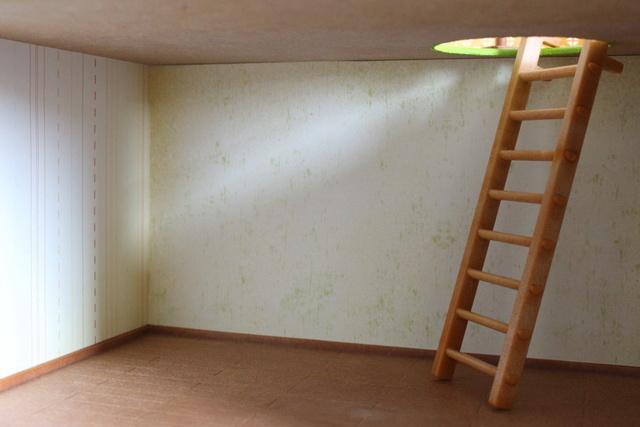 Maison souterraine simplissime - déco Terrie11