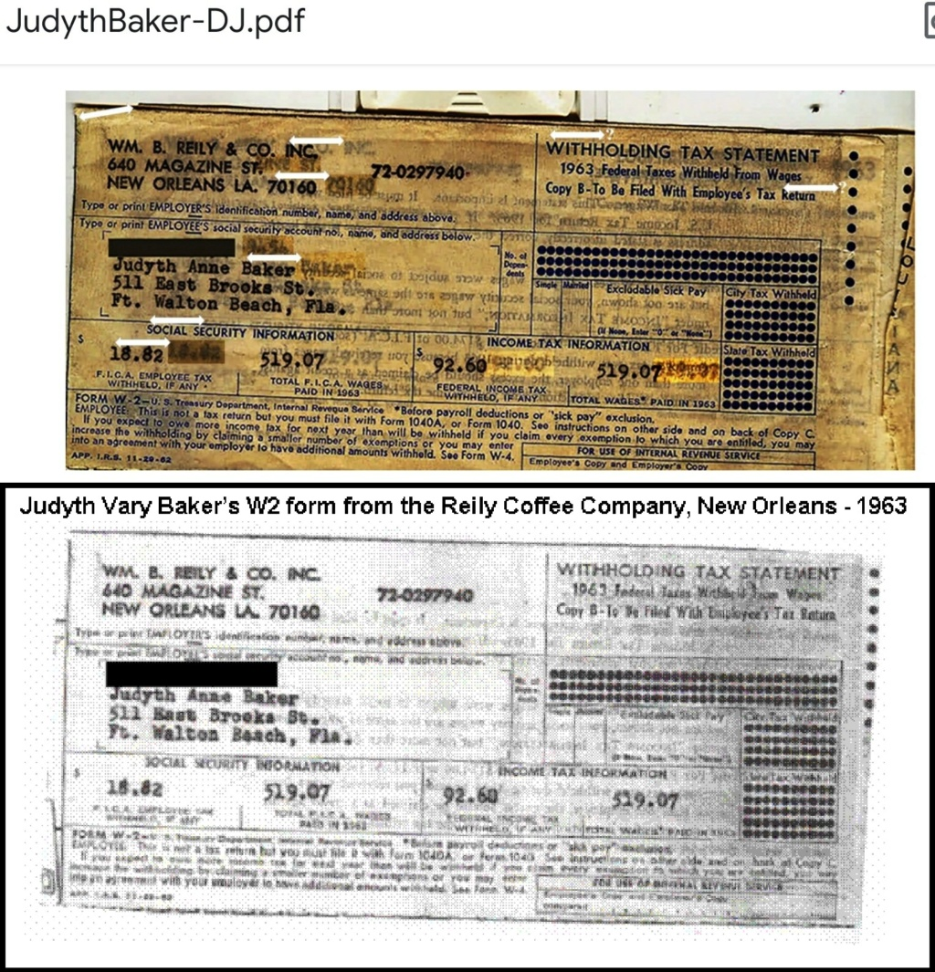 Judyth Baker - a credible source? - Page 7 Bakerw10