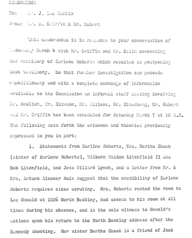 Did Oswald deny living at 1026 N Beckley?  - Page 7 Earlen11