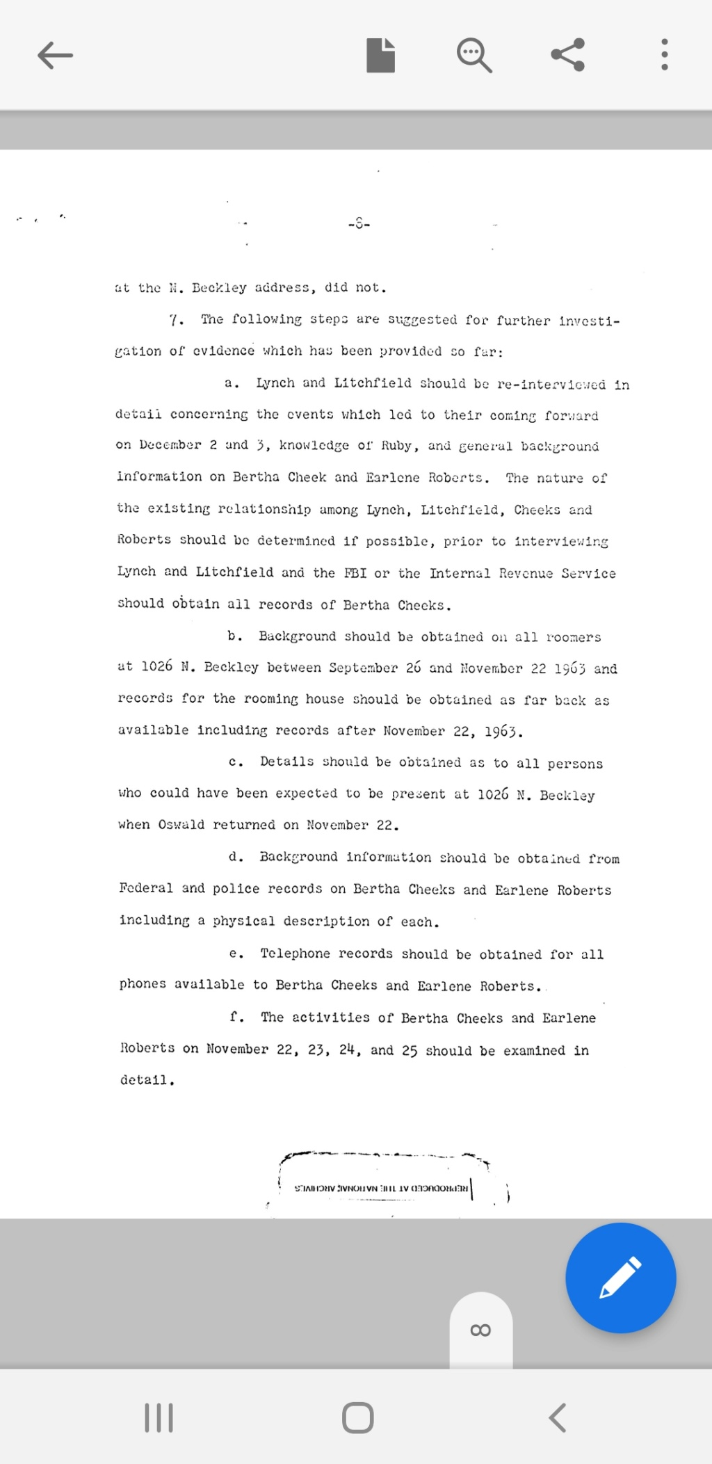 Did Oswald deny living at 1026 N Beckley?  - Page 6 Scree276