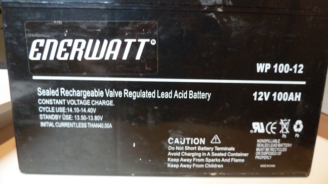 Nouvelle batterie, pour plus d'autonomie P1100011