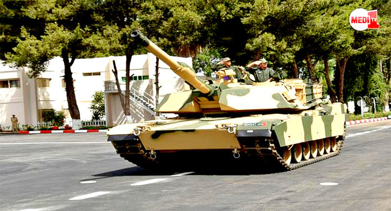 M1A1 SA ABRAMS Marocains / Moroccan M1A1 SA ABRAMS M1_110
