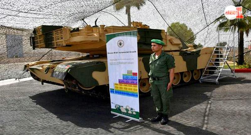 M1A1 SA ABRAMS Marocains / Moroccan M1A1 SA ABRAMS M1_210