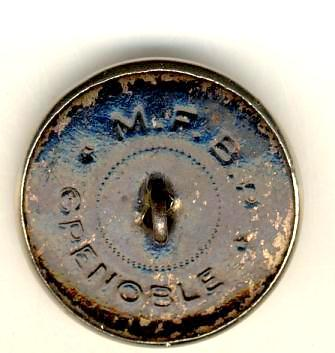 Bouton de veste de chasse - Chevreuil - XXème Veste_11