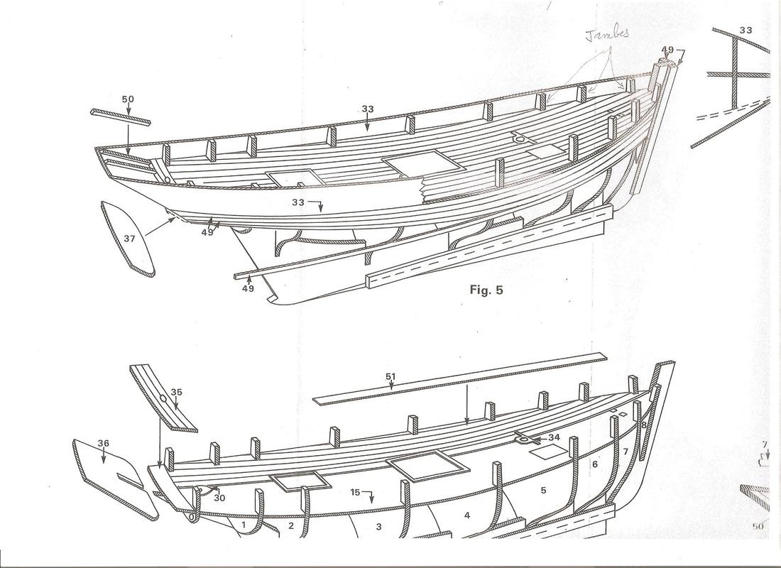 Thonier* - La Marie Jeanne Thonier Billing boats au 1/50 Plan0110