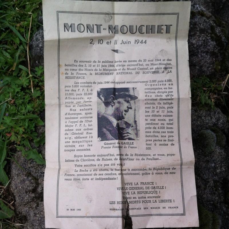 Le MONT-MOUCHET, haut lieu de la Résistance - Page 3 Img_9021