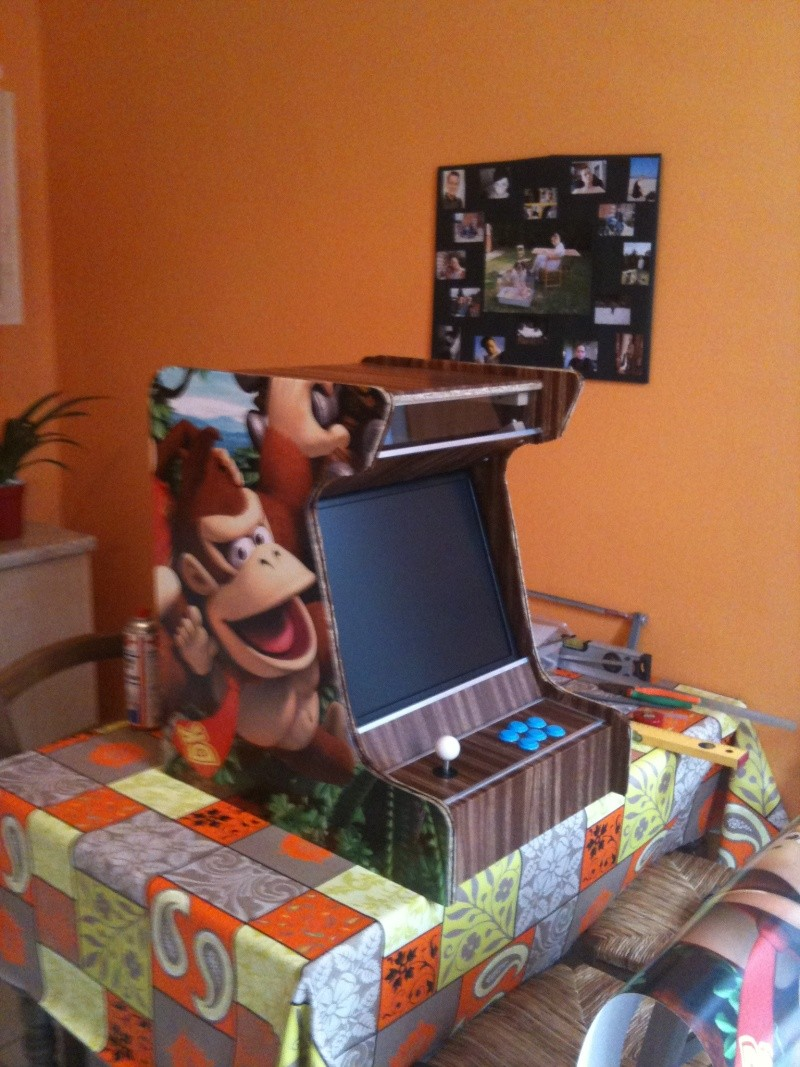 Comment se construire une mini borne d'arcade.  410