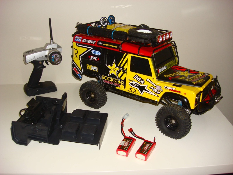 (RC4WD) Gelände D110 Ultimate Scale Truck (RTR) Dsc05311