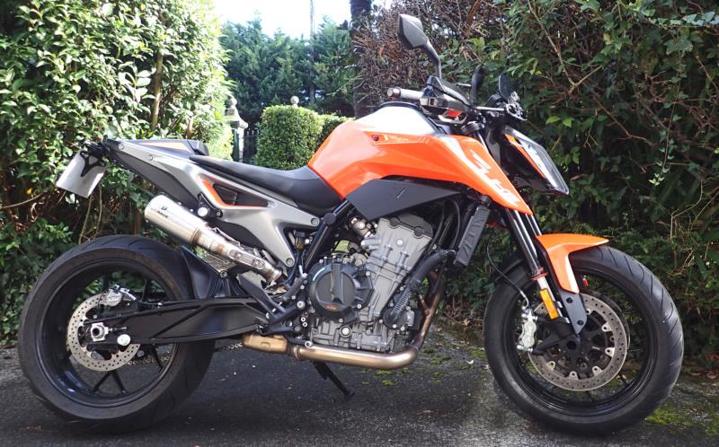 Echappement IXRACE MK2 black édition - KTM Duke 790 Pa120010