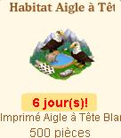 Habitat Aigle à Tête Blanche => Imprimé Aigle à Tête Blanche Sans_132