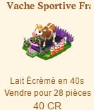 Vache Sportive Française / Vache Sportive / Vache de Foot => Lait Ecrémé Sans_329
