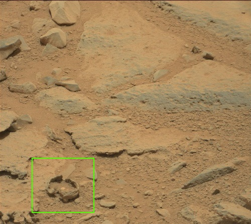 weird 'bubbles' seen by Curiosity rover 0309mr10