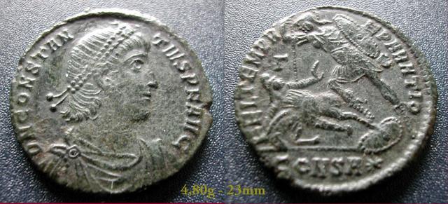 Les Constances II, ses Césars et ces opposants par Rayban35 20151014