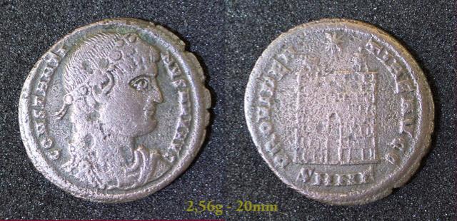Les Constantins Ier et Constantins II de Rayban35 Charge41
