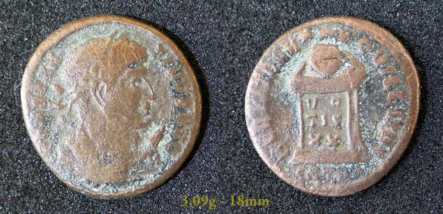 Les Constantins Ier et Constantins II de Rayban35 Charge42