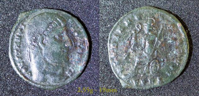 Les Constantins Ier et Constantins II de Rayban35 Charge44