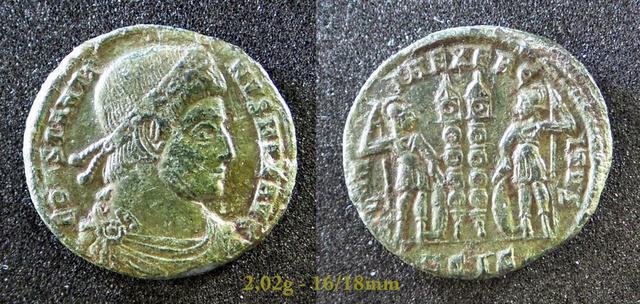 Les Constantins Ier et Constantins II de Rayban35 Charge50