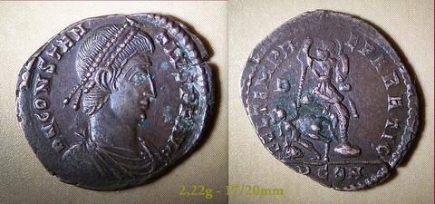 Les Constances II, ses Césars et ces opposants par Rayban35 Charge70
