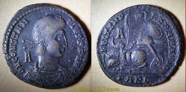 Les Constances II, ses Césars et ces opposants par Rayban35 Charge71