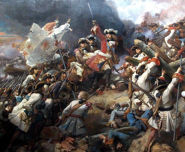 La bataille de Malplaquet  Batail11