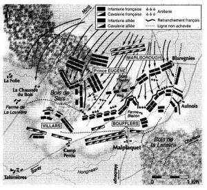 La bataille de Malplaquet  Db829910