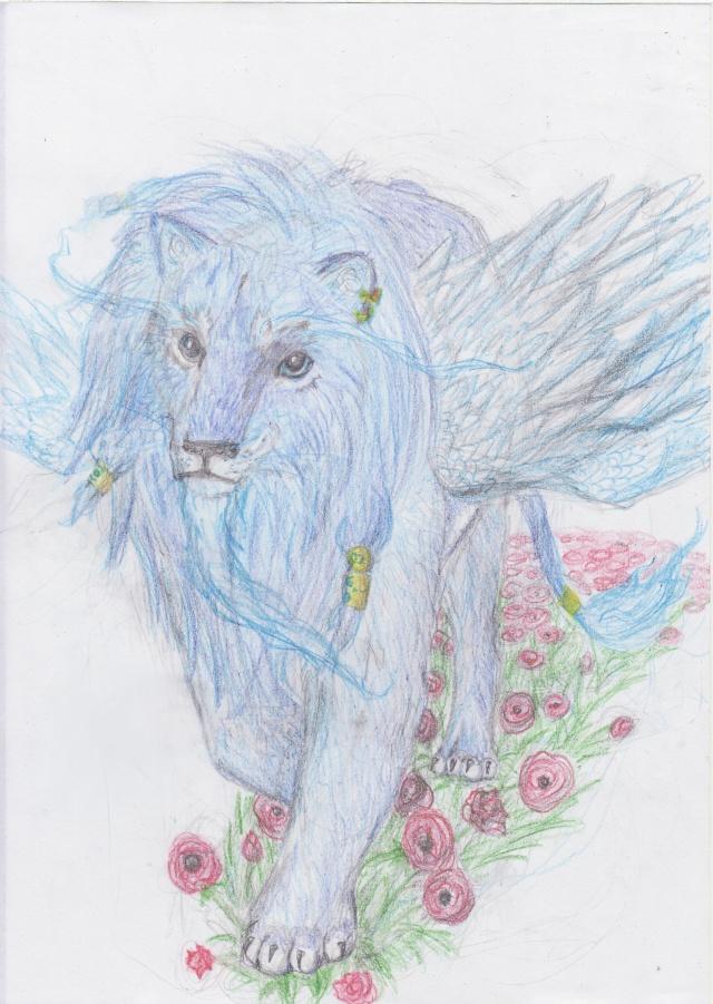 Petits Gribouillis by El' - Page 2 Lion_10