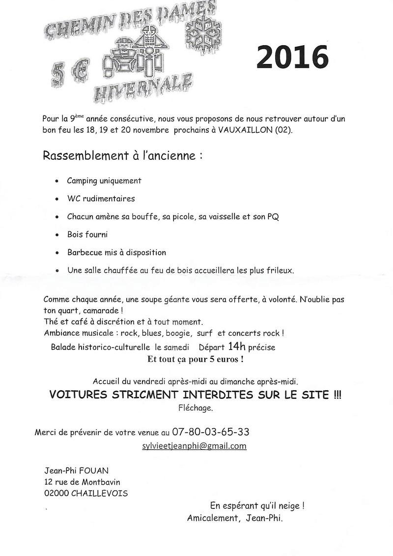 CHEMIN DES DAMES à Vauxaillon (02) les 18 , 19 et 20 novembre 2016 Chemin11