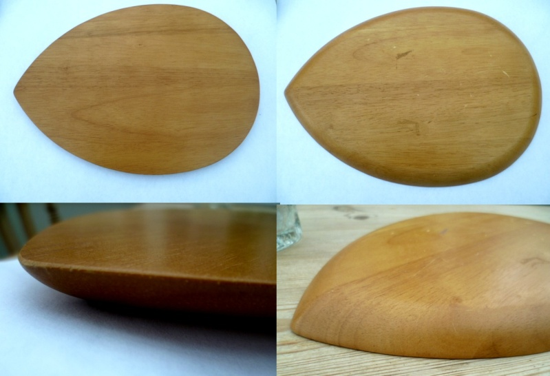 Teak Tearrop leafe shape cheese board. Arne Jacobsen perhaps? Aleaf10