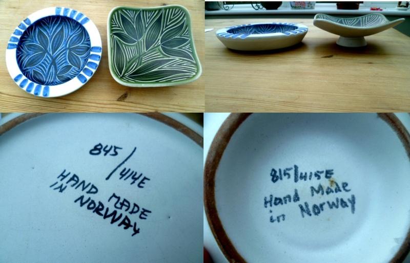 Graveren Keramikk (Norway) Leaf10