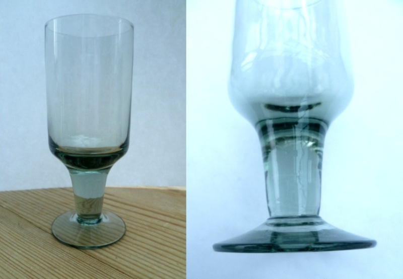 Does anyone recognise these 11 cm glasses? Sherry10