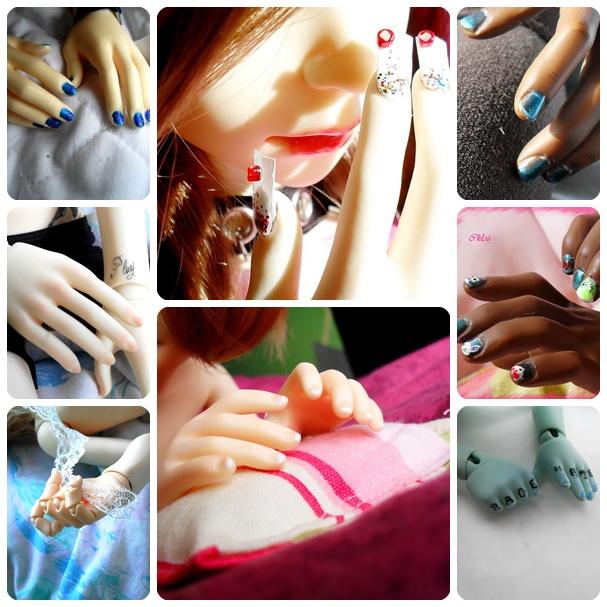 Le pot à Crayons ♥ Tatouages, architecture et crâne (P.5) Nails10
