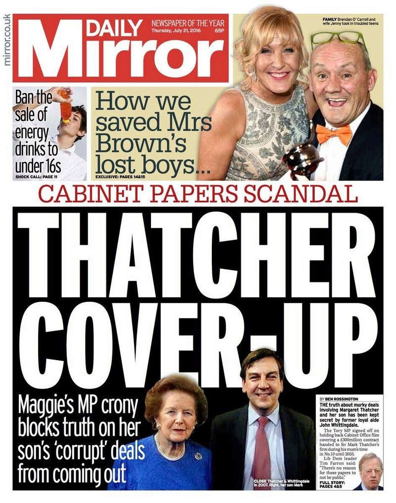 Is this another Tory scandal brewing? (Part 2) - Page 12 Thatch10