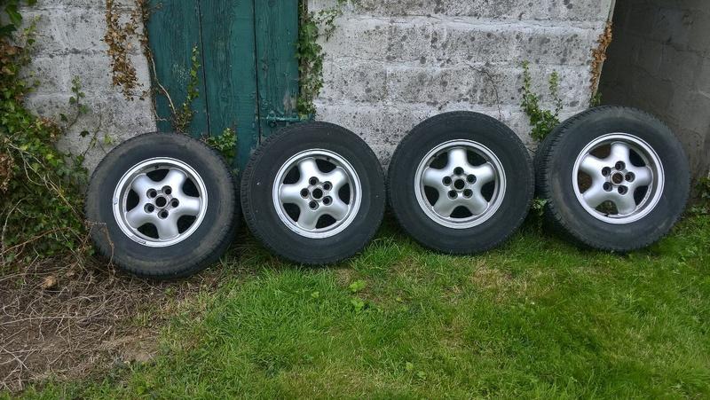 4 roues alu,pneus Michelin  Image17