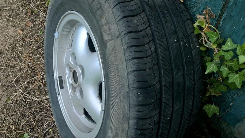 4 roues alu,pneus Michelin  Image22