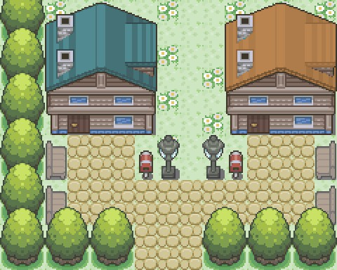 Pokemon Evolution Z Map110