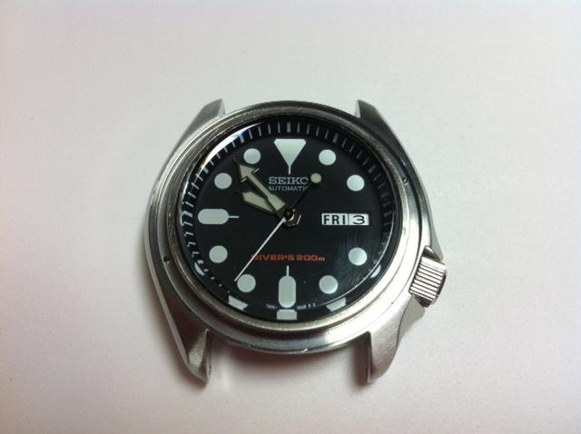 DIVER - customisation de seiko diver's 200 SKX007 Photo_15