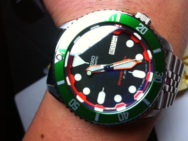 DIVER - customisation de seiko diver's 200 SKX007 Photo_26