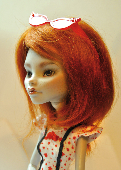 Vos Monster High repeintes, customisées Ginger11